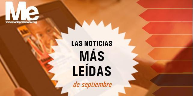 Más leídas septiembre